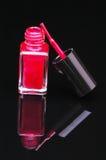 Nail Polish and Brush Royalty Free Stock Image