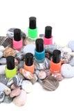 Nail polish (color set) Royalty Free Stock Photography