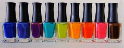 Nail polish colorful Royalty Free Stock Photography