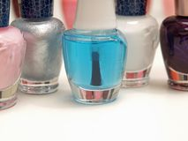 Nail Polish - Colours Royalty Free Stock Photo