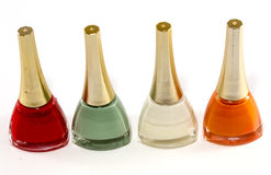 Nail Polish of Different Colors Royalty Free Stock Photo