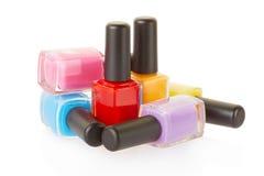 Nail polish group Royalty Free Stock Photo