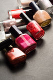 Nail polish. Nail polish high resolution image Royalty Free Stock Photography