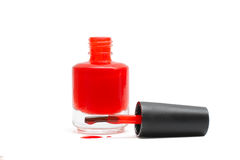 Nail polish isolated on white Stock Photography