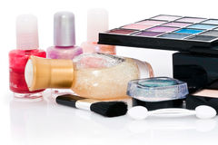 Nail polish and make up Stock Image