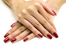 Nail Polish Manicure Royalty Free Stock Photography