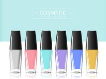 free nail polish bottle template creative touch