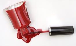 Nail polish (photo studio) Royalty Free Stock Image
