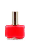 Nail polish red Royalty Free Stock Photos