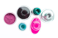 Nail polish set Stock Image