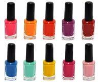 Nail polish set Royalty Free Stock Photo