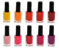 Nail polish set Stock Image
