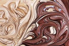 Nail polish texture Stock Photography