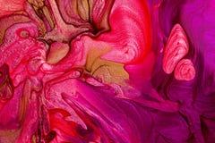 Nail polish texture Stock Image