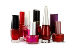 Nail polish variety Royalty Free Stock Photo
