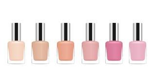 Nail polish. Vector Royalty Free Stock Images
