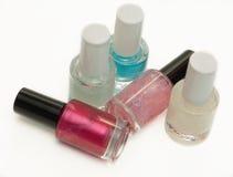 Nail polish. On white background Stock Images