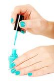 Nail polish Stock Images
