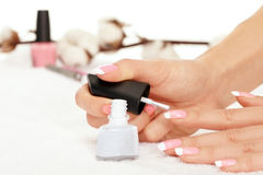 Nail polisher Stock Images