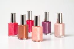 Nail polishes stock image