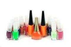Nail polishes Royalty Free Stock Photos