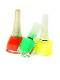 Nail polishes Stock Image