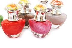 Nail polishes Stock Images