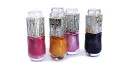 Nail polishes Royalty Free Stock Images