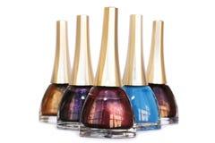 Nail polishes Royalty Free Stock Photo