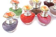 Nail polishes Royalty Free Stock Image