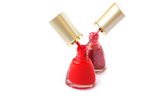 Nail polishes Royalty Free Stock Photo