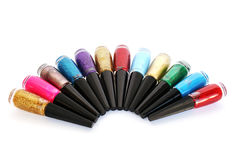 Nail polishes Stock Images