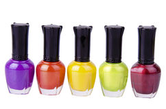 Nail polishes Royalty Free Stock Photography