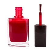 Nail polishes isolated Stock Images
