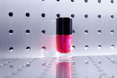 Nail polishes in nice flacon Stock Photos
