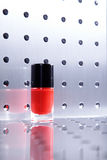 Nail polishes in nice flacon Royalty Free Stock Photography