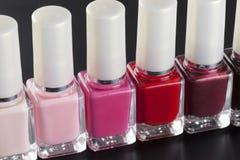 Nail polishs Stock Photos