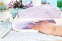 Nail salon Royalty Free Stock Image