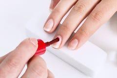 Nail salons Stock Photo