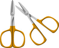 Nail scissors Royalty Free Stock Image
