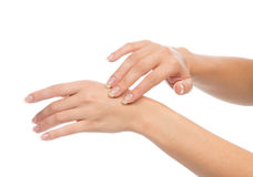 Nail and skin care concept Stock Photo