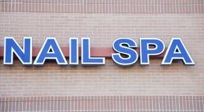 Nail Spa σπίτι Στοκ Φωτογραφία