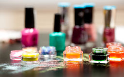 Nail studio Stock Images