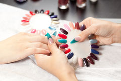 Nail studio Royalty Free Stock Photo