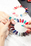Nail studio Royalty Free Stock Images