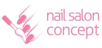 Nail Technician Concept Bar Or Salon Manicurist Of A