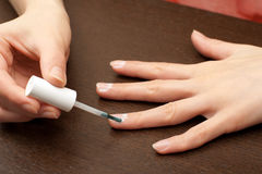 Nail therapy Royalty Free Stock Photos