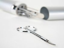 Nail tools & nail cutter 3 Royalty Free Stock Photo