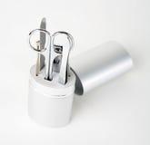 Nail tools & nail cutter 4 Stock Images