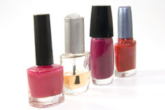 Nail varnish Royalty Free Stock Images